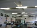 Sonofonic Acouctic Ceiling Panels in noisy kitchen