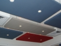 Serenity Acoustic Ceiling Panel with Light