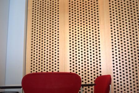 Environmentally Friendly ACoustic Wood Panels