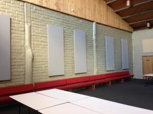 Improve Sound in Church Hall - Serenity Panels