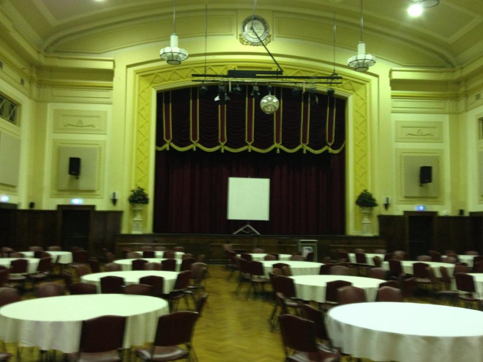 Improve Sound in Noisy Ballroom