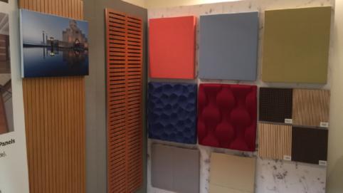 Sontext exhibition showcasing panels