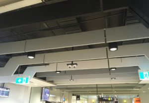 Reduce noise in departure lounges Sonofonic